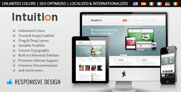 Intuition Preview Wordpress Theme - Rating, Reviews, Preview, Demo & Download