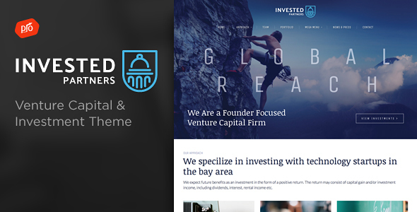 Invested Preview Wordpress Theme - Rating, Reviews, Preview, Demo & Download
