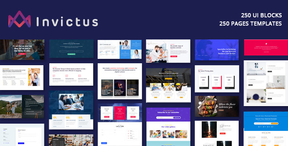 Invictus Preview Wordpress Theme - Rating, Reviews, Preview, Demo & Download