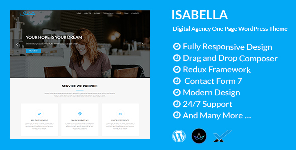 Isabella Preview Wordpress Theme - Rating, Reviews, Preview, Demo & Download