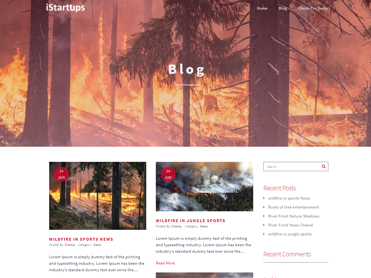 IStartups Preview Wordpress Theme - Rating, Reviews, Preview, Demo & Download