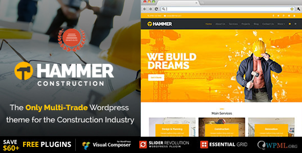 IT Hammer Preview Wordpress Theme - Rating, Reviews, Preview, Demo & Download