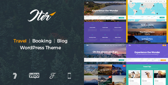 Iter Preview Wordpress Theme - Rating, Reviews, Preview, Demo & Download