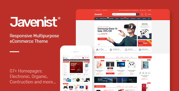 Javenist Preview Wordpress Theme - Rating, Reviews, Preview, Demo & Download