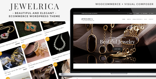Jewelrica Preview Wordpress Theme - Rating, Reviews, Preview, Demo & Download