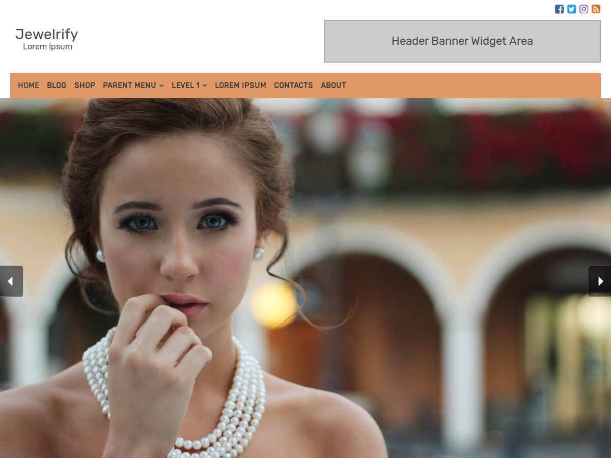 Jewelrify Preview Wordpress Theme - Rating, Reviews, Preview, Demo & Download