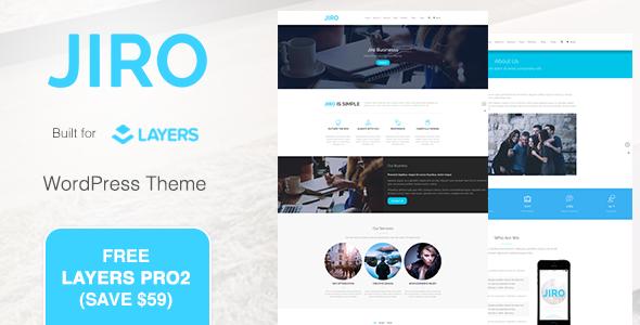 JIRO Preview Wordpress Theme - Rating, Reviews, Preview, Demo & Download