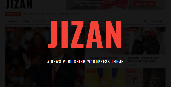 Jizan Preview Wordpress Theme - Rating, Reviews, Preview, Demo & Download