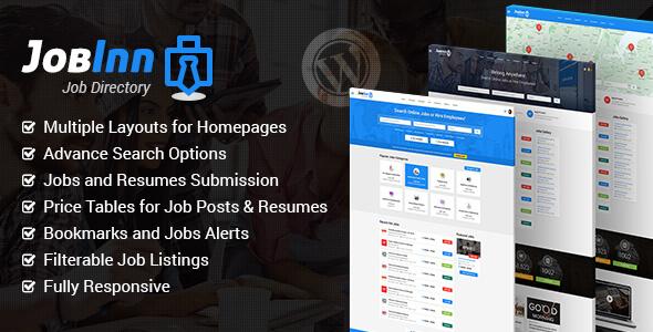 JobInn Preview Wordpress Theme - Rating, Reviews, Preview, Demo & Download