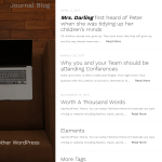 Journal Blog