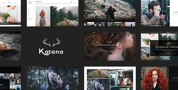 Katana Preview Wordpress Theme - Rating, Reviews, Preview, Demo & Download
