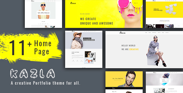 Kazla Preview Wordpress Theme - Rating, Reviews, Preview, Demo & Download
