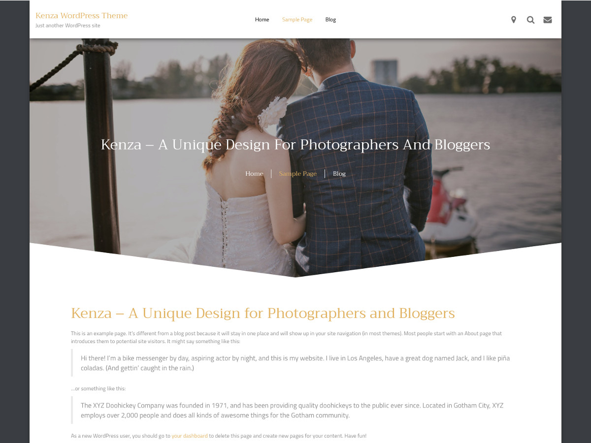 Kenza Preview Wordpress Theme - Rating, Reviews, Preview, Demo & Download