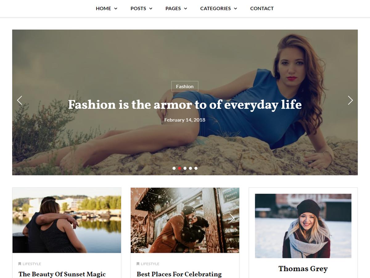 Key Blog Preview Wordpress Theme - Rating, Reviews, Preview, Demo & Download