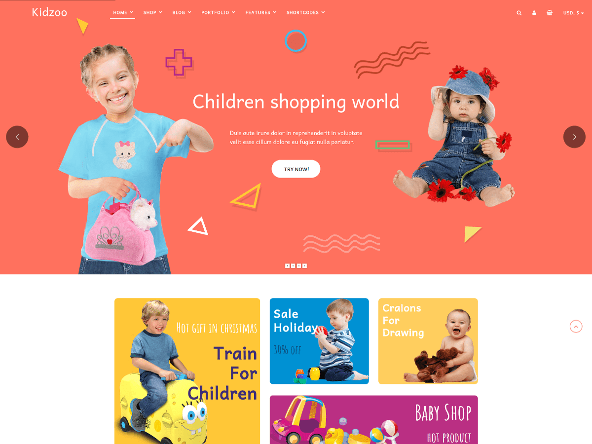 Kidzoo Lite Preview Wordpress Theme - Rating, Reviews, Preview, Demo & Download