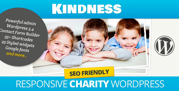 Kindness Preview Wordpress Theme - Rating, Reviews, Preview, Demo & Download