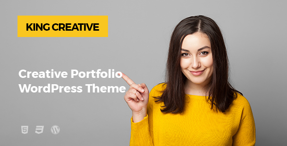 King Creative Preview Wordpress Theme - Rating, Reviews, Preview, Demo & Download