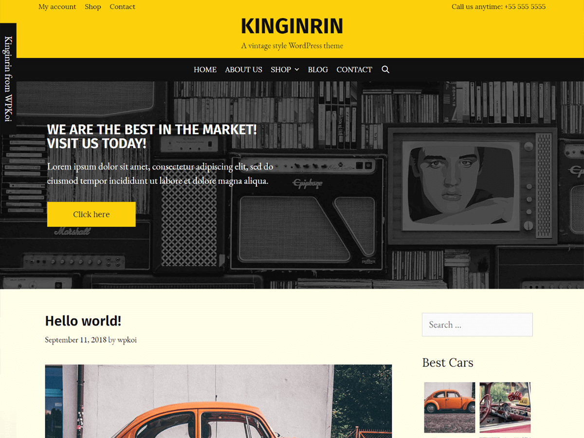 Kinginrin Preview Wordpress Theme - Rating, Reviews, Preview, Demo & Download