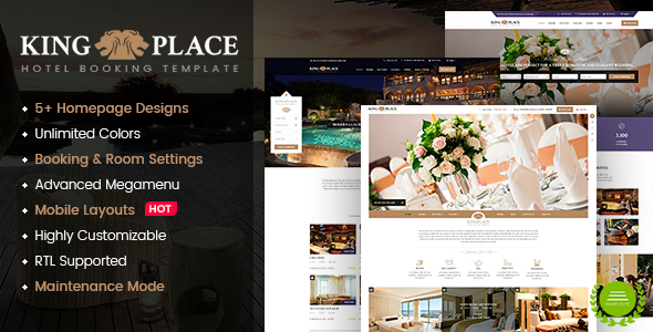 KingPlace Preview Wordpress Theme - Rating, Reviews, Preview, Demo & Download
