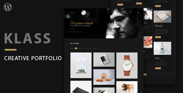 Klass Preview Wordpress Theme - Rating, Reviews, Preview, Demo & Download