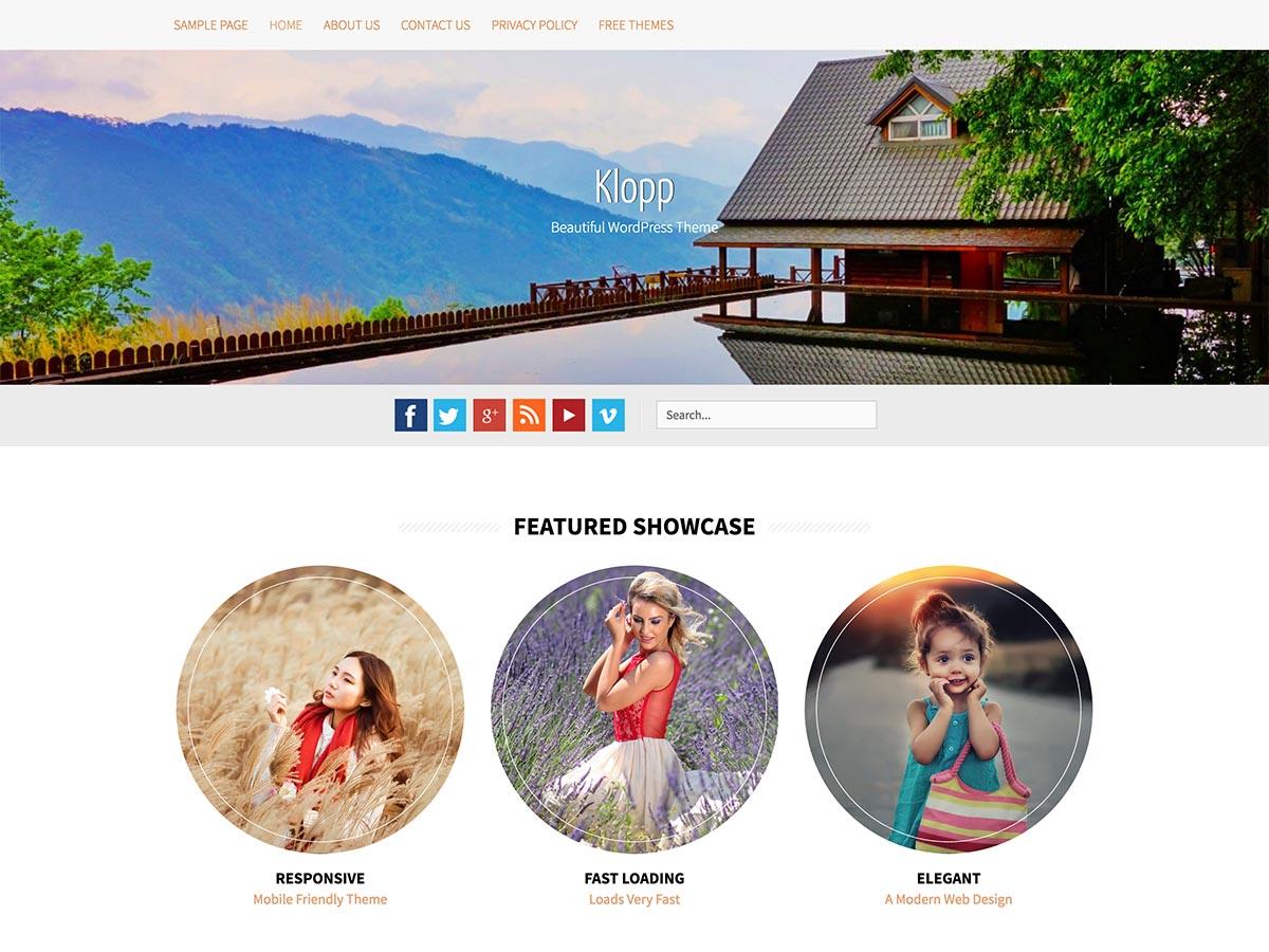 Klopp Preview Wordpress Theme - Rating, Reviews, Preview, Demo & Download