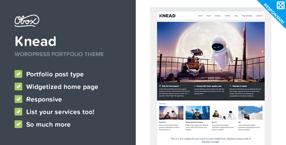 Knead Preview Wordpress Theme - Rating, Reviews, Preview, Demo & Download