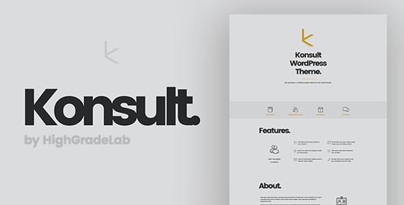 Konsult Preview Wordpress Theme - Rating, Reviews, Preview, Demo & Download