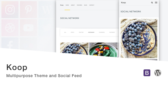 Koop Preview Wordpress Theme - Rating, Reviews, Preview, Demo & Download