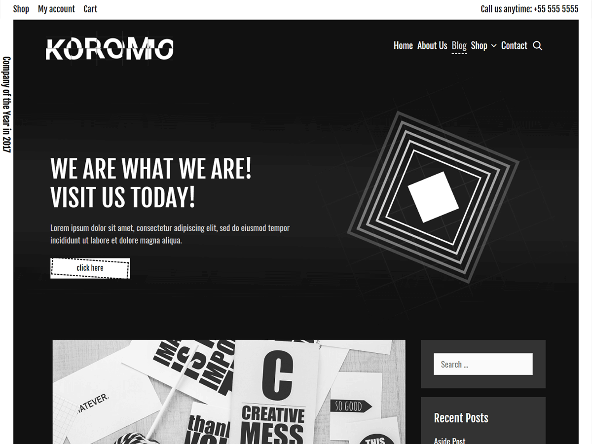 Koromo Preview Wordpress Theme - Rating, Reviews, Preview, Demo & Download