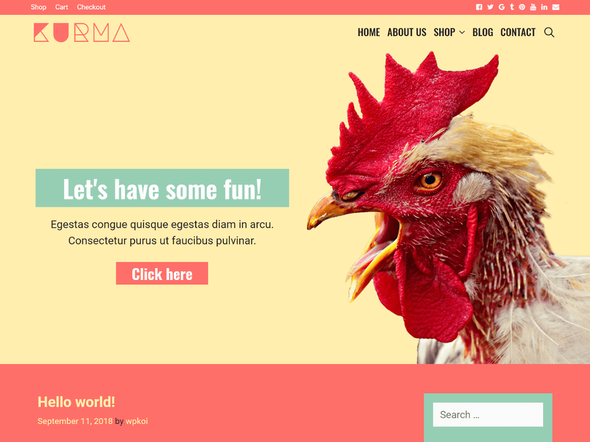 Kurma Preview Wordpress Theme - Rating, Reviews, Preview, Demo & Download