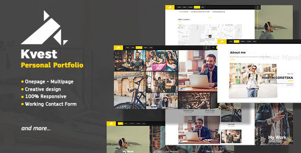 Kvest Preview Wordpress Theme - Rating, Reviews, Preview, Demo & Download
