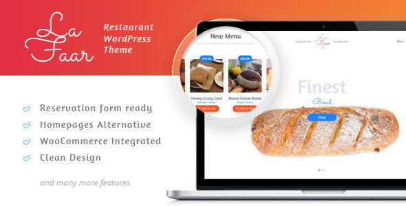 Lafaar Preview Wordpress Theme - Rating, Reviews, Preview, Demo & Download