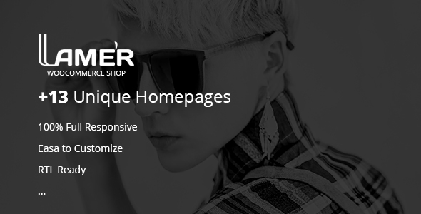 Lamer Fashion Preview Wordpress Theme - Rating, Reviews, Preview, Demo & Download
