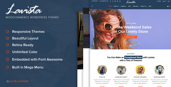 Lavista Preview Wordpress Theme - Rating, Reviews, Preview, Demo & Download