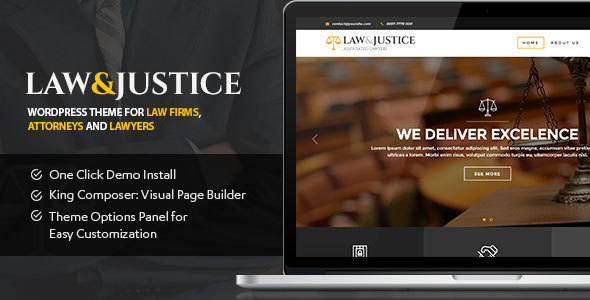 Law Preview Wordpress Theme - Rating, Reviews, Preview, Demo & Download