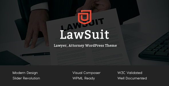 LawSuit Preview Wordpress Theme - Rating, Reviews, Preview, Demo & Download