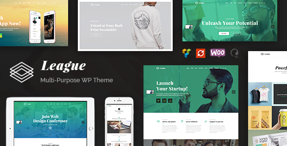 League Preview Wordpress Theme - Rating, Reviews, Preview, Demo & Download