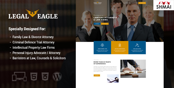 Legal Eagle Preview Wordpress Theme - Rating, Reviews, Preview, Demo & Download