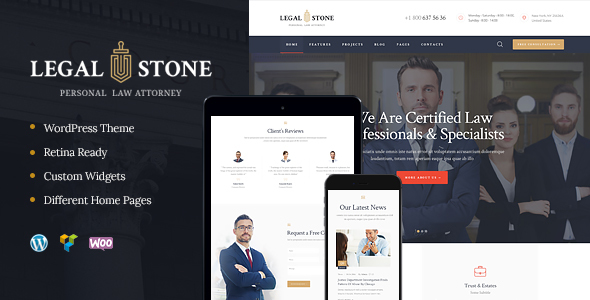 Legal Stone Preview Wordpress Theme - Rating, Reviews, Preview, Demo & Download