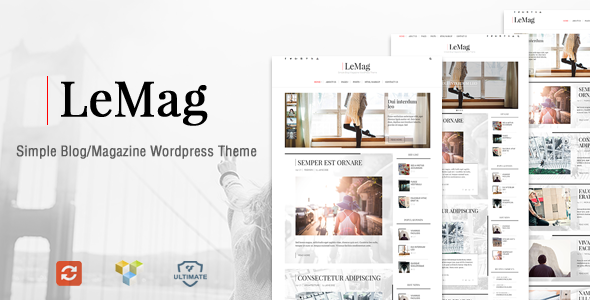 LeMag Preview Wordpress Theme - Rating, Reviews, Preview, Demo & Download