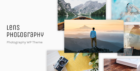 Lens Photography Preview Wordpress Theme - Rating, Reviews, Preview, Demo & Download