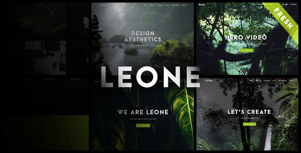 Leone Preview Wordpress Theme - Rating, Reviews, Preview, Demo & Download