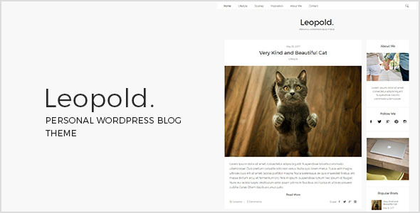 Leopold Preview Wordpress Theme - Rating, Reviews, Preview, Demo & Download