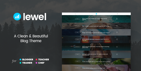 LEWEL Preview Wordpress Theme - Rating, Reviews, Preview, Demo & Download