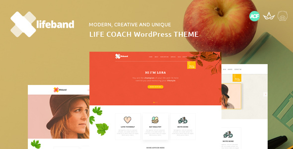 Lifeband Preview Wordpress Theme - Rating, Reviews, Preview, Demo & Download