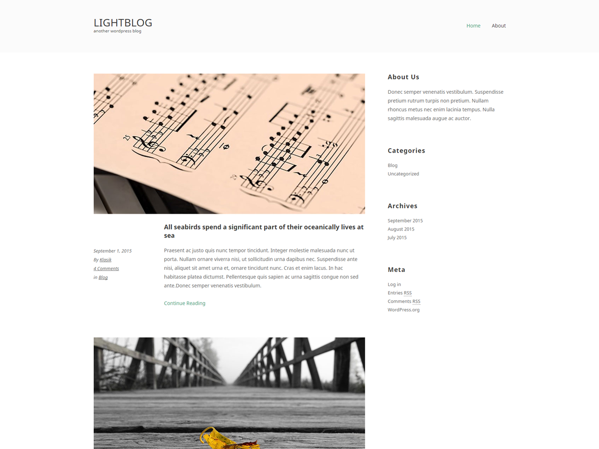 LightBlogKT Preview Wordpress Theme - Rating, Reviews, Preview, Demo & Download