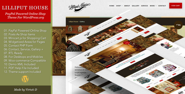 Lilliput House Preview Wordpress Theme - Rating, Reviews, Preview, Demo & Download