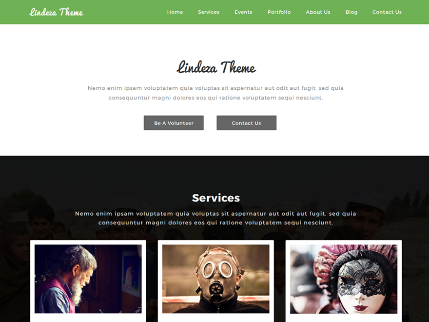 Lindeza Preview Wordpress Theme - Rating, Reviews, Preview, Demo & Download