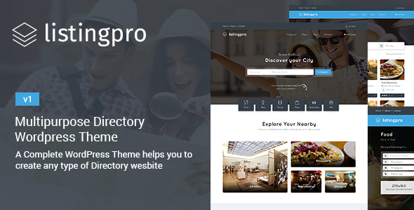 ListingPro Preview Wordpress Theme - Rating, Reviews, Preview, Demo & Download