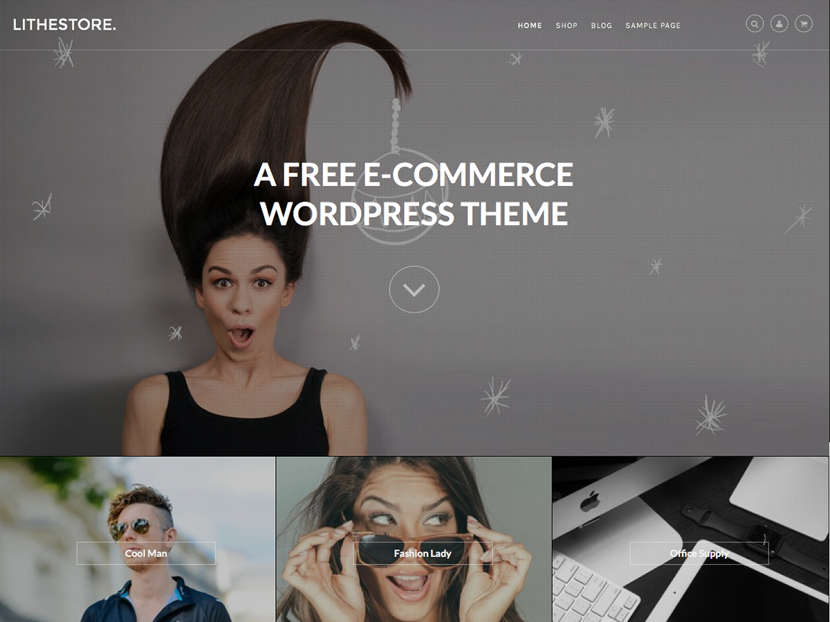 LitheStore Preview Wordpress Theme - Rating, Reviews, Preview, Demo & Download